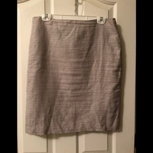 Ann Taylor Gray Skirt